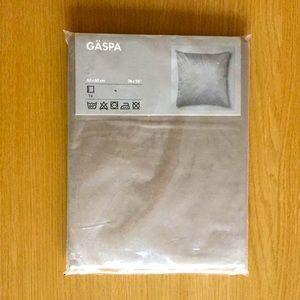 IKEA Gaspa 100% Cotton Square Pillowcase
